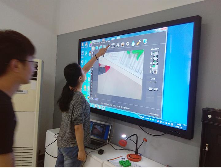 màn hình tương tác thay đổi cách dạy, cách học truyền thống